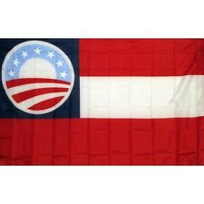 First National Obama Flag Banner Sign 3' x 5' Foot Polyester Grommets
