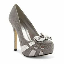 Stiletto Party 100% Leather Court Heels for Women