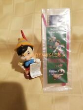Disney Pinocchio Ornament and Film Cell Bookmark LOT