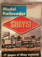 Vintage Model Railroader Magazine May 1971