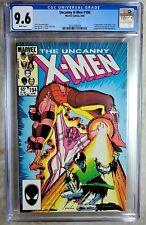 Uncanny X-Men #194 1st Fenris Twins Marvel 1985 CGC 9.6 NM+ WhiPages Comic R0070