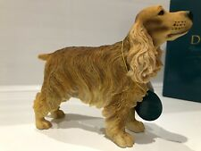 Golden English Cocker Spaniel Ornament Gift Figure Figurine