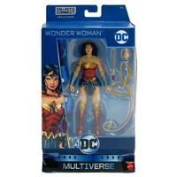 DC MULTIVERSE WONDER WOMAN 6 Action inch figure Lex luthor BAF MATTEL new!