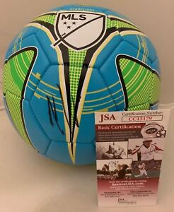 Dom Dwyer Orlando City SC signed MLS Soccer Ball autographed Team USA JSA