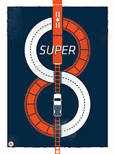 SUPER 8 Movie. SUPER 8 by RYDER DOTY. Limited Ed Print. Bad Robot. Spielberg