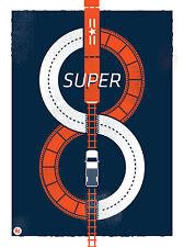 SUPER 8 FILM. SUPER 8 da Ryder Doty. LIMITED ed. stampa Robot Cattivo. Spielberg
