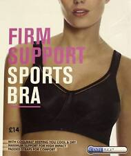 BHS - Firm Support Sports Bra - Black - Size 36B  - New & Boxed