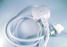 Apple Mac Pro Cinema Display Power Lead UK Plug To Square Flange IEC Skt OL0264
