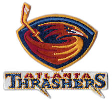 "1999-2010 Atlanta Thrashers Nhl Hockey Vintage 3"" Defunct Team Logo Patch"