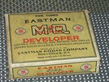 Vintage ~ Eastman Kodak Company Photo Developer Box & Accessories Elon Quinol
