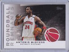 2009-10 Topps Roundball Remnants Antonio McDyess Card #RR-AMC
