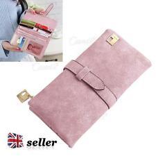 UK Donna Portamonete Donna in Pelle a Portafoglio Pochette Lungo titolare della carta CASE Purse Handbag