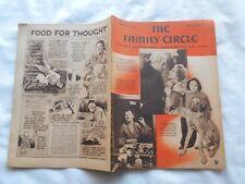 THE FAMILY CIRCLE Magazine-MARCH 30,1934-DOUGLAS FAIRBANKS JR.