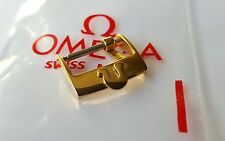 Omega 16mm Gold Plated Watch Buckle B-12