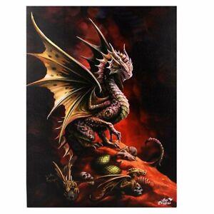 Anne Stokes, Leinwand, Bild, Drachen, Desert Dragon
