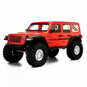 Axial AXI03003T2 SCX10 III Jeep JLU Wrangler RC Crawler RTR Orange