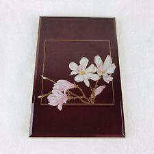 Otagiri Lacquerware magnolia Vintage Address Book Japan
