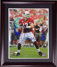Kurt Warner Rams Cardinals signed 11x14 framed photo MVP auto online authentics