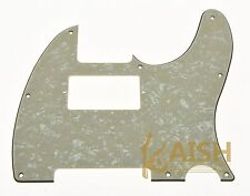 Tele Telecaster Style Guitar Humbucker Pickguard Scratch Plate Aged Pearl