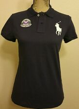 POLO RALPH LAUREN LADIES TENNIS CHAMPIONSHIP WIMBLEDON BIG PONY SHIRT SIZE LARGE