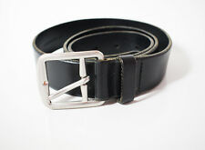 Ralph Lauren Polo Original Mens Leather Belt Black