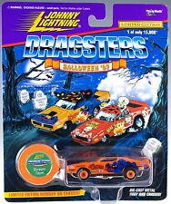 Johnny Lightning Dragsters Halloween '97 Scream Team Orange MOC 1997