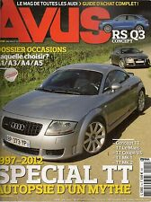 AVUS 14 AUDI TT LE MANS TT COUPE V6 QUATTRO TT QUATTRO 2004 2012 S7 SPORTBACK