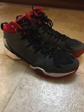 Jordan Melo M10 Mens Basketball Shoes Size 11 Anthracite Black Red Sneakers
