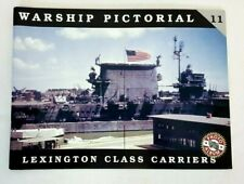 Warship Pictorial Vol #11 LEXINGTON Class Aircraft Carriers Softcover Book OOP