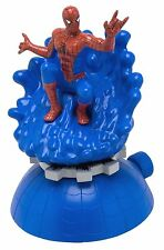 "Spider- Man Web Shooter Sprinkler- 2 Water Shooting Areas- New- 10""H & 6-1/2""W"
