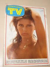 TV SORRISI CANZONI=1974/15=CLAUDIA MORI=PATTY PRAVO=MINA RAFFELLA CARRA=VIANELLA