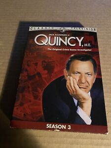 Quincy, M.E.: Season 3 (DVD) Tv Show Box Set 4 Disc