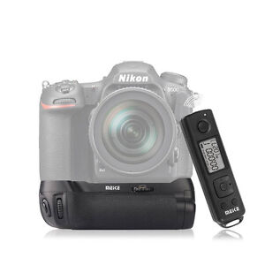 MeikeDR500 Vertical Battery Grip with 2.4G Wireless RemoteControl For Nikon D500