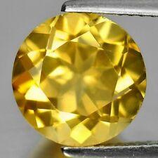 GOLDEN CITRINE 13 MM ROUND CUT ALL NATURAL