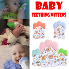 New Design Newborn Baby Silicone Mitts Teething Mitten Molars Glove Wrapper Gift