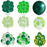 Jungle Turtle Leaf Palm Vine Confetti Balloons Helium Baby Shower Party DecorNEW