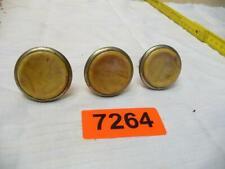 7264. 3 Stück alte 50er Jahre Möbelknöpfe Schrankknopf Restaurierung Möbel