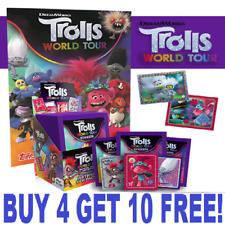 Topps Trolls World Tour Stickers (2020) Single Stickers  BUY 4 GET 10 FREE!!