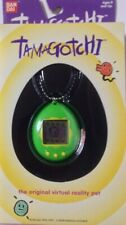 Bandai Original TamaGotchi Yellow and Green, 1996 - 1997 English