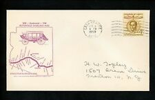 US Postal History Stagecoach Butterfield Overland Mail Centennial 1958 Grande AZ