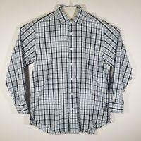 Vineyard Vines Baron Shirt Mens Large Long Sleeve Multicolor Plaid 100% Cotton