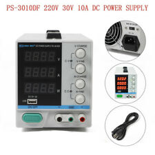 DC Netzteil Versorgungsteil 0-10A 0-30V Labornetzgerät Regelbares LED DHL