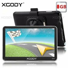 XGODY 560 5'' GPS Navigation for Car Lorry Coach HGV Navigator SAT NAV 8GB ROM