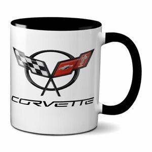 CORVETTE COFFEE MUG 11oz CERAMIC GM CHEVY STINGRAY