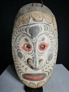 Stunning Ancestor House Mask, Sawos, PNG, Papua New Guinea, Oceanic, Tribal Art