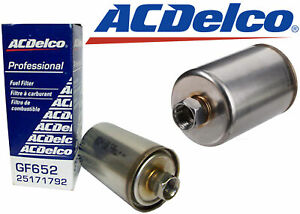 Genuine GM AC Delco GF652 Replacement Fuel Filter New Free Shipping USA