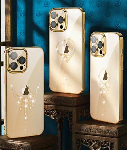 KINGXBAR Bling Diamond Case for iPhone 12 13 Pro Max min With SWAROVSKI Elements