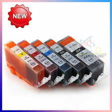 10x PGI520 CLI521 Ink Cartridge for Canon PIXMA iP4700 MP540 MP550 MP560 Printer