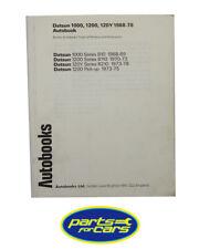 Autobooks - Car Manual - Datsun 1000,1200,120Y, 1968-78