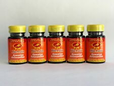 Bundle of 5 - BioAstin- Hawaiian Astaxanthin- Nutrex Hawaii- 12 mg- 25 Gel Caps